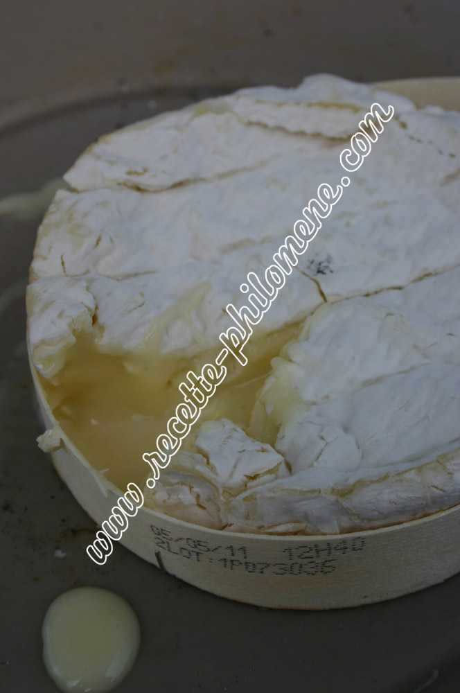 Photo de la recette : Camembert fondant au barbecue