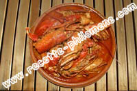 Photo de la recette : Homard � l'armoricaine de cathy