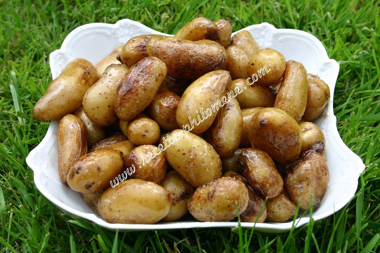 Pommes de terre nouvelles saut es la po le accompagnements - Pomme de terre grille a la poele ...