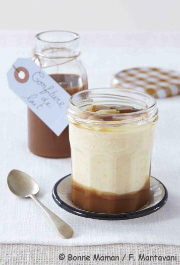 Riz au lait et confiture de lait desserts - Recette avec confiture de lait ...