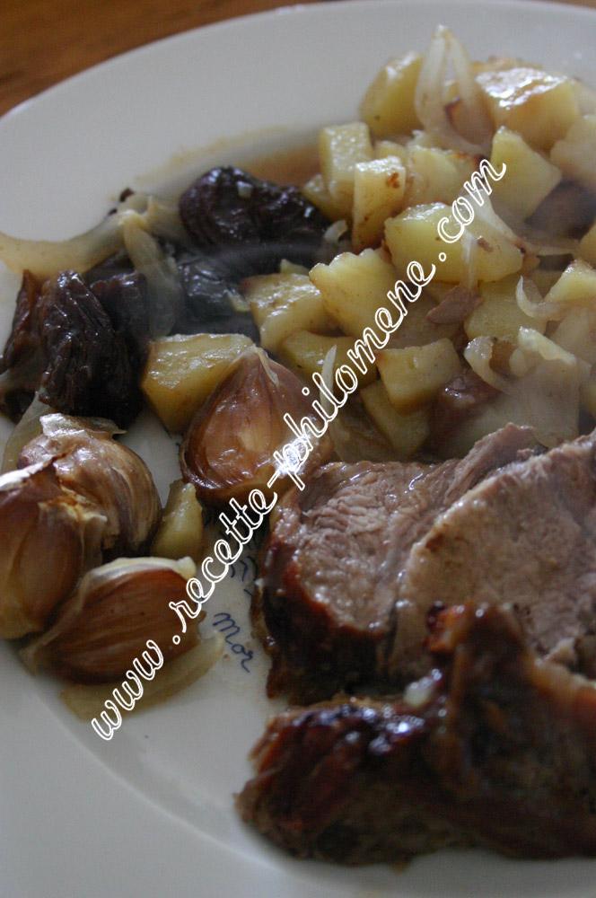 Roti De Porc Aux Pruneaux Plats