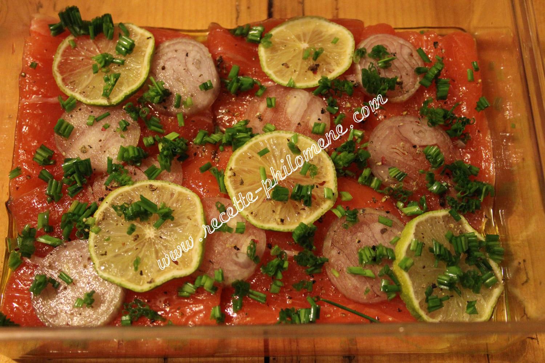 Saumon rapide fa on gravlax amuses bouches et verrines - Saumon gravlax rapide ...